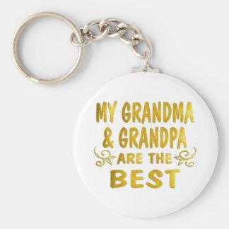 Best Grandma & Grandpa Keychains