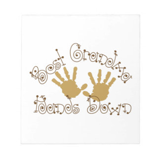 Best Grandma Hands Down Note Pads