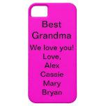 Best Grandma iPhone 5 Cover