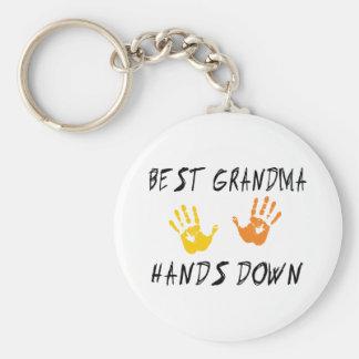Best Grandma Keychain