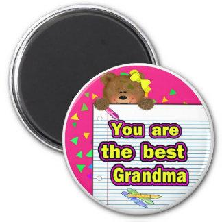Best Grandma Magnet