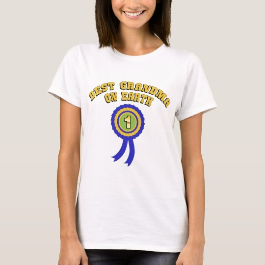 Best Grandma On Earth T-Shirt