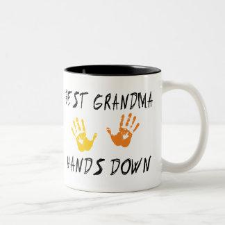 Best Grandma Two-Tone Coffee Mug