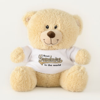 """""""Best Grandmere Teddy"""" Sherman Teddy Bear"""