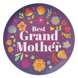 Best Grandmother Dinner Plate