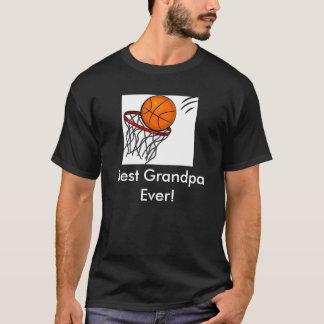 Best Grandpa- Basketball T-Shirt