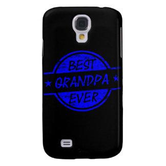 Best Grandpa Ever Blue Samsung Galaxy S4 Case