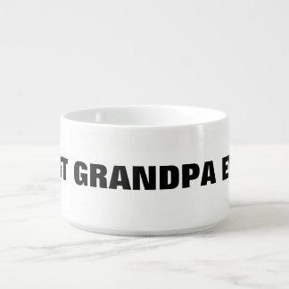 Best Grandpa Ever Bowl