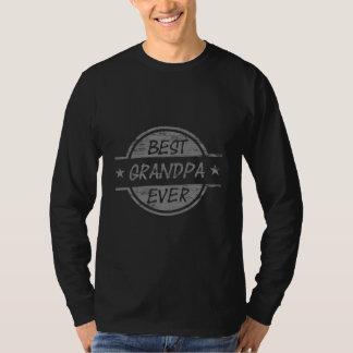 Best Grandpa Ever Gray T-Shirt