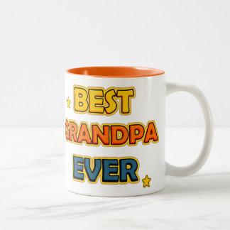 Best Grandpa ever Two-Tone Coffee Mug