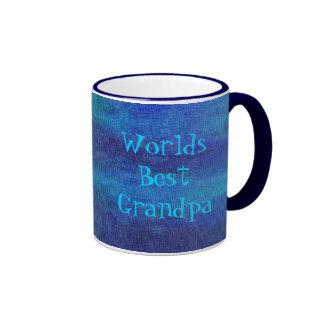 Best Grandpa Ringer Mug