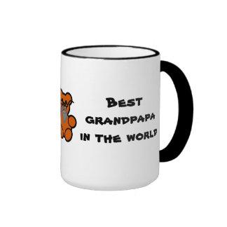 Best grandpapa in the world mug