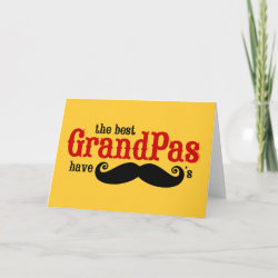 with Best Grandpas Have Mustaches design
