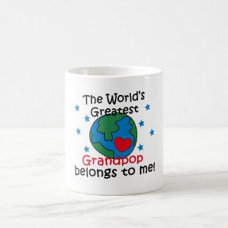 Best Grandpop Belongs to me Coffee Mug