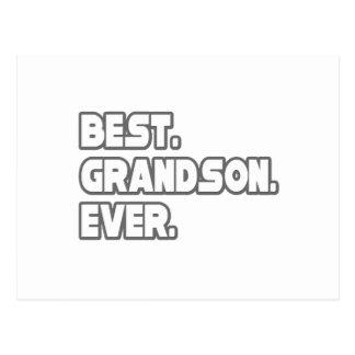 Best Grandson Ever Postcard
