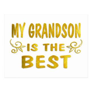 Best Grandson Postcard