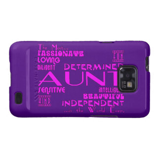Best & Greastest Aunties & Aunts : Qualities Samsung Galaxy S2 Case
