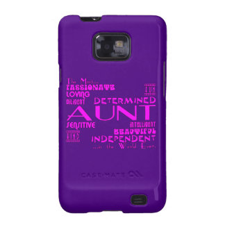 Best & Greastest Aunties & Aunts : Qualities Samsung Galaxy SII Cover