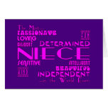 Best & Greastest Nieces Birthdays : Qualities Greeting Cards