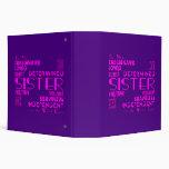 Best & Greastest Sisters Birthdays : Qualities Binder
