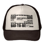 Best Greatest Future Fathers Dads to Be Qualities Mesh Hat