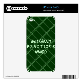 Best GREEN Practices Award - Change Txt Font Skins For The iPhone 4S