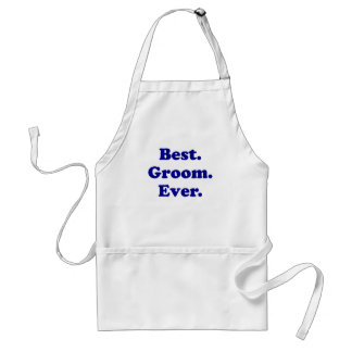 Best Groom Ever Adult Apron