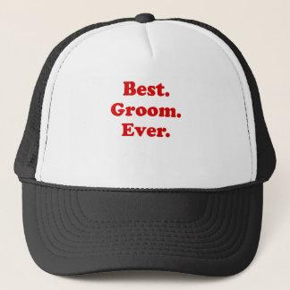 Best Groom Ever Trucker Hat