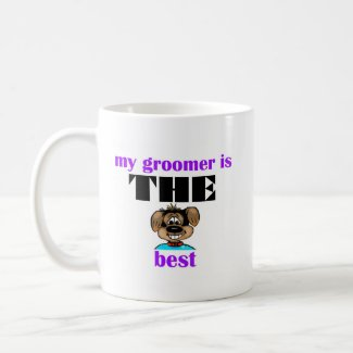 Best Groomer Coffee Mug