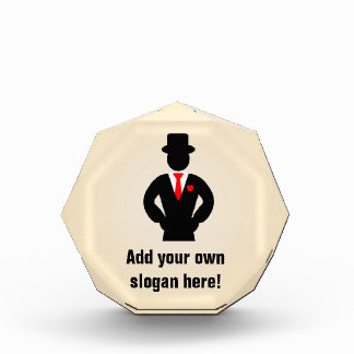 Best Groomsman Ever? Logo on a Fun Customized Award