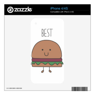 best hamburger decal for iPhone 4S