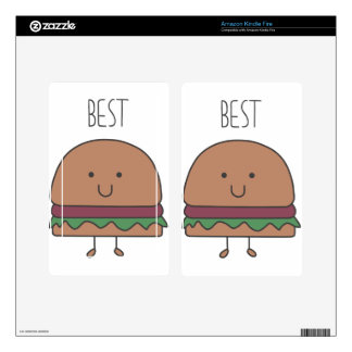 best hamburger decal for kindle fire