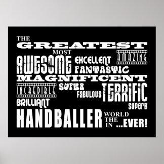 Best Handballers : Greatest Handballer Poster
