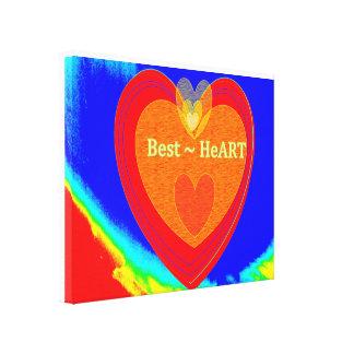 Best HeArt Canvas Print
