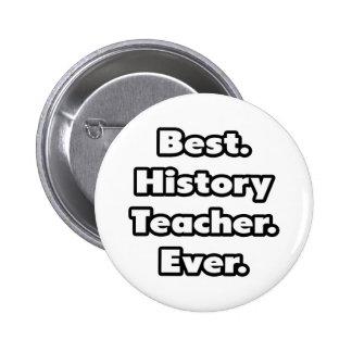 Best. History Teacher. Ever. Pinback Button