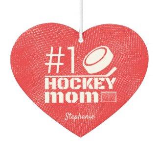 Best Hockey Mom Air Freshener number 1 red