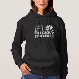 Best Hockey Mom Hoodie sweatshirt number 1