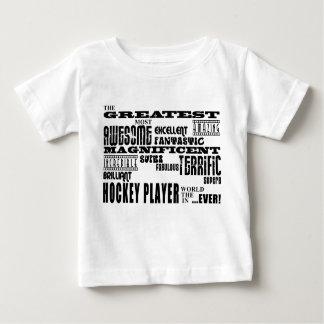 Best Hockey Players Greatest Hockey Player Tee Shirts