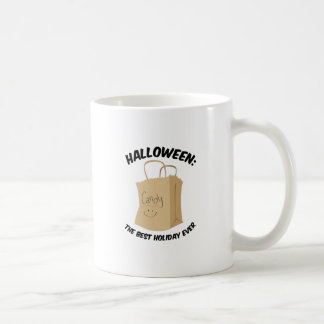 Best holiday classic white coffee mug