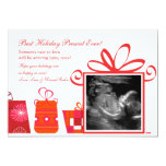 Best Holiday Present 5x7 Paper Invitation Card