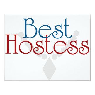 Best Hostess Card