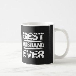 Best HUSBAND Ever Black and White Modern A06Z Coffee Mug