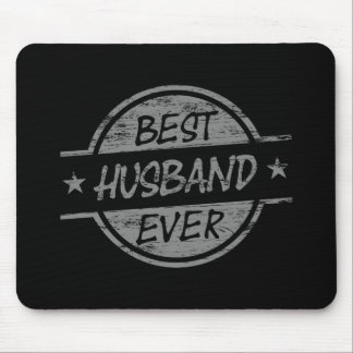 Best Husband Ever Gray Mouse Pad