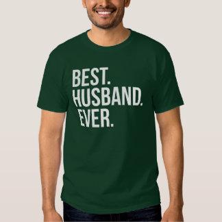 Best Husband Ever Green T-shirt
