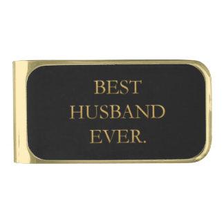 Best Husband Ever Money Clip