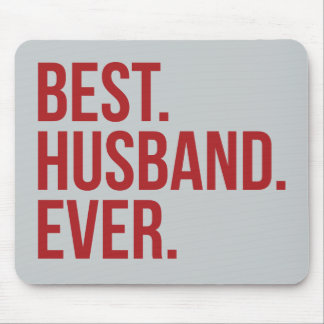 Best Husband Ever Mouse Pad