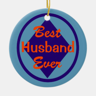 Best Husband Ever Personalized Ornament