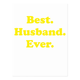 Best Husband Ever Postcard