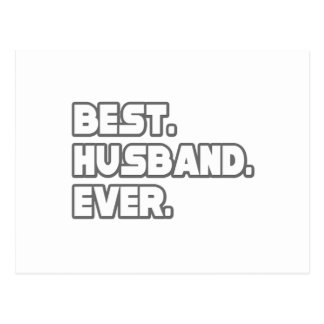 Best Husband Ever Post Card