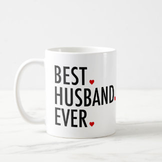 Best Husband Ever Valentines Day Coffee Mug